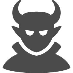 魔王のアイコン素材 アイコン素材ダウンロードサイト Icooon Mono 商用利用可能なアイコン素材が無料 フリー ダウンロードできるサイト
