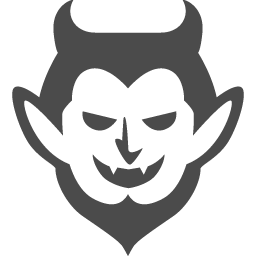 悪魔のフリーアイコン アイコン素材ダウンロードサイト Icooon Mono 商用利用可能なアイコン素材が無料 フリー ダウンロードできるサイト