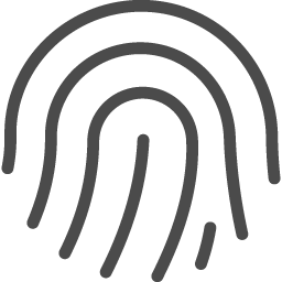 フリーの指紋認証アイコン アイコン素材ダウンロードサイト Icooon Mono 商用利用可能なアイコン素材が無料 フリー ダウンロードできるサイト