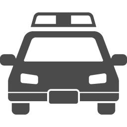 パトカーの無料アイコン10 アイコン素材ダウンロードサイト Icooon Mono 商用利用可能なアイコン素材が無料 フリー ダウンロードできるサイト