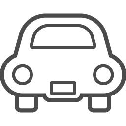 かわいい車の線画アイコン アイコン素材ダウンロードサイト Icooon Mono 商用利用可能なアイコン素材が無料 フリー ダウンロードできるサイト