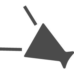 メガホンの無料アイコン12 アイコン素材ダウンロードサイト Icooon Mono 商用利用可能なアイコン素材が無料 フリー ダウンロードできるサイト