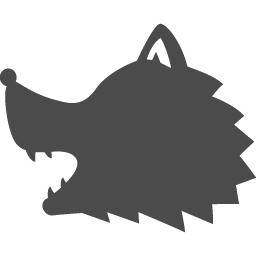 オオカミのアイコン アイコン素材ダウンロードサイト Icooon Mono 商用利用可能なアイコン素材が無料 フリー ダウンロードできるサイト