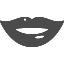 セクシーな唇アイコン アイコン素材ダウンロードサイト Icooon Mono 商用利用可能なアイコン素材が無料 フリー ダウンロードできるサイト
