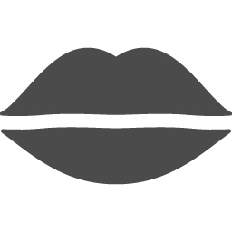 唇のアイコン アイコン素材ダウンロードサイト Icooon Mono 商用利用可能なアイコン素材が無料 フリー ダウンロードできるサイト