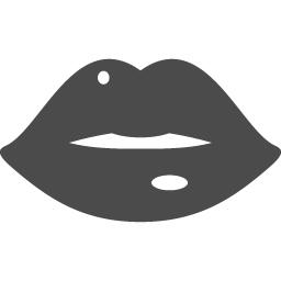 セクシーな唇アイコンその3 アイコン素材ダウンロードサイト Icooon Mono 商用利用可能なアイコン素材が無料 フリー ダウンロードできるサイト