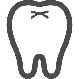 歯の線画アイコン アイコン素材ダウンロードサイト Icooon Mono 商用利用可能なアイコン素材が無料 フリー ダウンロードできるサイト