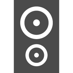 スピーカーのアイコン アイコン素材ダウンロードサイト Icooon Mono 商用利用可能なアイコン 素材が無料 フリー ダウンロードできるサイト
