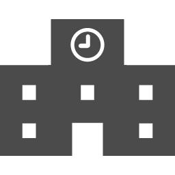 学校のアイコン2 アイコン素材ダウンロードサイト Icooon Mono 商用利用可能なアイコン素材が無料 フリー ダウンロードできるサイト
