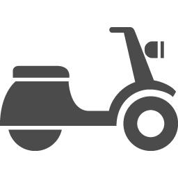 スクーターのアイコン素材 アイコン素材ダウンロードサイト Icooon Mono 商用利用可能なアイコン 素材が無料 フリー ダウンロードできるサイト
