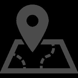 目的地アイコン1 アイコン素材ダウンロードサイト Icooon Mono 商用利用可能なアイコン素材が無料 フリー ダウンロードできるサイト