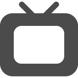 Television 1 アイコン素材ダウンロードサイト Icooon Mono 商用利用可能なアイコン 素材が無料 フリー ダウンロードできるサイト