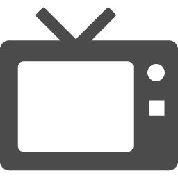 テレビの無料アイコン素材2 アイコン素材ダウンロードサイト Icooon Mono 商用利用可能なアイコン素材が無料 フリー ダウンロードできるサイト
