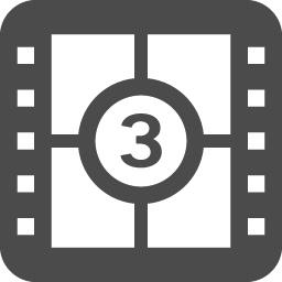 数字付きのフィルムアイコン アイコン素材ダウンロードサイト Icooon Mono 商用利用可能なアイコン 素材が無料 フリー ダウンロードできるサイト