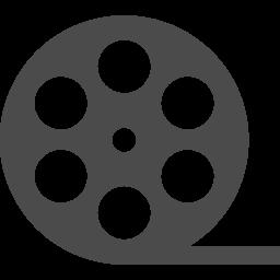 ムービーの映画フィルムロールアイコン アイコン素材ダウンロードサイト Icooon Mono 商用利用可能なアイコン 素材が無料 フリー ダウンロードできるサイト