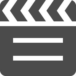 カチンコの無料アイコン素材 アイコン素材ダウンロードサイト Icooon Mono 商用利用可能なアイコン素材が無料 フリー ダウンロードできるサイト