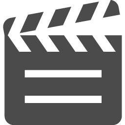 カチンコアイコン アイコン素材ダウンロードサイト Icooon Mono 商用利用可能なアイコン素材が無料 フリー ダウンロードできるサイト