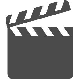 カチンコのアイコン素材4 アイコン素材ダウンロードサイト Icooon Mono 商用利用可能なアイコン素材 が無料 フリー ダウンロードできるサイト