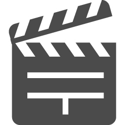 カチンコのアイコン素材5 アイコン素材ダウンロードサイト Icooon Mono 商用利用可能なアイコン素材 が無料 フリー ダウンロードできるサイト