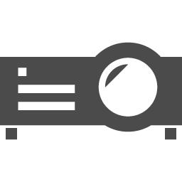 プロジェクターのアイコン素材 アイコン素材ダウンロードサイト Icooon Mono 商用利用可能なアイコン素材が無料 フリー ダウンロードできるサイト