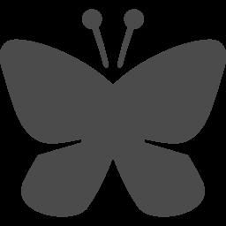 蝶のアイコン素材2 アイコン素材ダウンロードサイト Icooon Mono 商用利用可能なアイコン素材が無料 フリー ダウンロードできるサイト