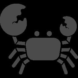 ハサミの大きいカニのアイコン素材 アイコン素材ダウンロードサイト Icooon Mono 商用利用可能なアイコン素材が無料 フリー ダウンロードできるサイト