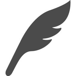 羽根のペンの無料アイコン素材 アイコン素材ダウンロードサイト Icooon Mono 商用利用可能なアイコン素材が無料 フリー ダウンロードできるサイト