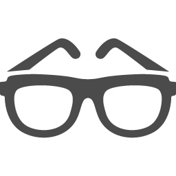 メガネのアイコン素材 アイコン素材ダウンロードサイト Icooon Mono 商用利用可能なアイコン素材 が無料 フリー ダウンロードできるサイト