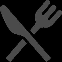 フォークとナイフのお食事アイコン素材2 アイコン素材ダウンロードサイト Icooon Mono 商用利用可能なアイコン素材が無料 フリー ダウンロードできるサイト