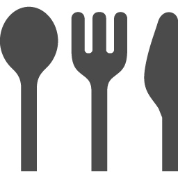 フォークとナイフとスプーンのお食事アイコン素材 アイコン素材ダウンロードサイト Icooon Mono 商用利用可能なアイコン素材 が無料 フリー ダウンロードできるサイト