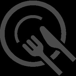 ナイフ お皿 フォークのお食事アイコン2 アイコン素材ダウンロードサイト Icooon Mono 商用利用可能なアイコン 素材が無料 フリー ダウンロードできるサイト