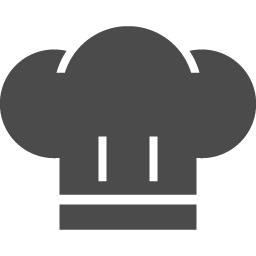 コック帽のアイコン素材 アイコン素材ダウンロードサイト Icooon Mono 商用利用可能なアイコン素材が無料 フリー ダウンロードできるサイト