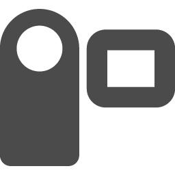 ビデオカメラのフリーアイコン アイコン素材ダウンロードサイト Icooon Mono 商用利用可能なアイコン素材が無料 フリー ダウンロードできるサイト