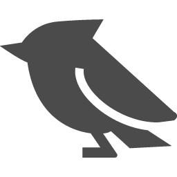 小鳥のアイコン アイコン素材ダウンロードサイト Icooon Mono 商用利用可能なアイコン素材が無料 フリー ダウンロードできるサイト