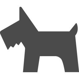 犬のアイコン 4 アイコン素材ダウンロードサイト Icooon Mono 商用利用可能なアイコン素材が無料 フリー ダウンロードできるサイト