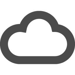 天気くもりのアイコン素材 2 アイコン素材ダウンロードサイト Icooon Mono 商用利用可能なアイコン 素材が無料 フリー ダウンロードできるサイト