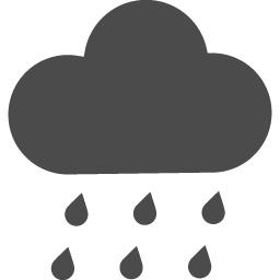 天気雨のアイコン素材 アイコン素材ダウンロードサイト Icooon Mono 商用利用可能なアイコン 素材が無料 フリー ダウンロードできるサイト