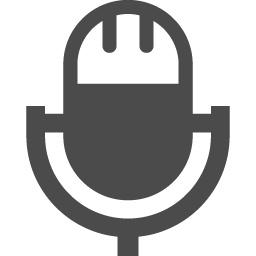 マイクのアイコン アイコン素材ダウンロードサイト Icooon Mono 商用利用可能なアイコン素材が無料 フリー ダウンロードできるサイト
