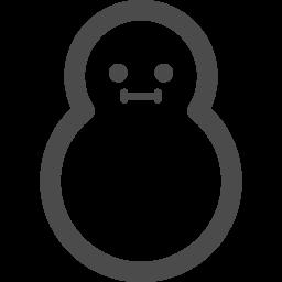 雪だるまのアイコン素材 アイコン素材ダウンロードサイト Icooon Mono 商用利用可能なアイコン 素材が無料 フリー ダウンロードできるサイト