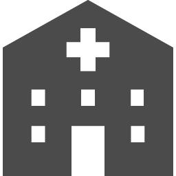 病院のアイコン素材 アイコン素材ダウンロードサイト Icooon Mono 商用利用可能なアイコン素材が無料 フリー ダウンロードできるサイト
