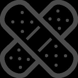 バンドエイドのアイコン素材 4 アイコン素材ダウンロードサイト Icooon Mono 商用利用可能なアイコン素材が無料 フリー ダウンロードできるサイト