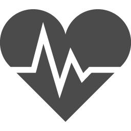 ハートの心電図のアイコン素材 2 アイコン素材ダウンロードサイト Icooon Mono 商用利用可能なアイコン素材が無料 フリー ダウンロードできるサイト