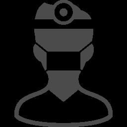 医者のアイコン素材 アイコン素材ダウンロードサイト Icooon Mono 商用利用可能なアイコン素材が無料 フリー ダウンロードできるサイト