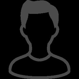 スタンダードな人のアイコン素材 アイコン素材ダウンロードサイト Icooon Mono 商用利用可能なアイコン素材が無料 フリー ダウンロードできるサイト