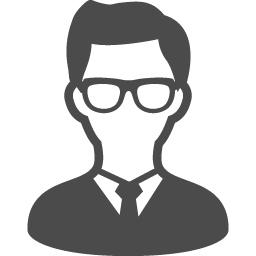 メガネをかけた男性のアイコン素材 アイコン素材ダウンロードサイト Icooon Mono 商用利用可能なアイコン素材 が無料 フリー ダウンロードできるサイト