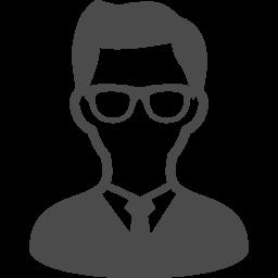 メガネをかけた男性のアイコン素材 アイコン素材ダウンロードサイト Icooon Mono 商用利用可能なアイコン素材が無料 フリー ダウンロードできるサイト