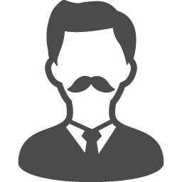 ヒゲの男性のアイコン素材 アイコン素材ダウンロードサイト Icooon Mono 商用利用可能なアイコン 素材が無料 フリー ダウンロードできるサイト