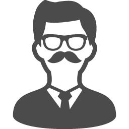 社長のアイコン アイコン素材ダウンロードサイト Icooon Mono 商用利用可能なアイコン素材が無料 フリー ダウンロードできるサイト