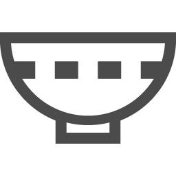 お茶碗のアイコン素材 2 アイコン素材ダウンロードサイト Icooon Mono 商用利用可能なアイコン素材が無料 フリー ダウンロードできるサイト