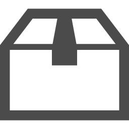 段ボール箱のアイコン素材 アイコン素材ダウンロードサイト Icooon Mono 商用利用可能なアイコン 素材が無料 フリー ダウンロードできるサイト